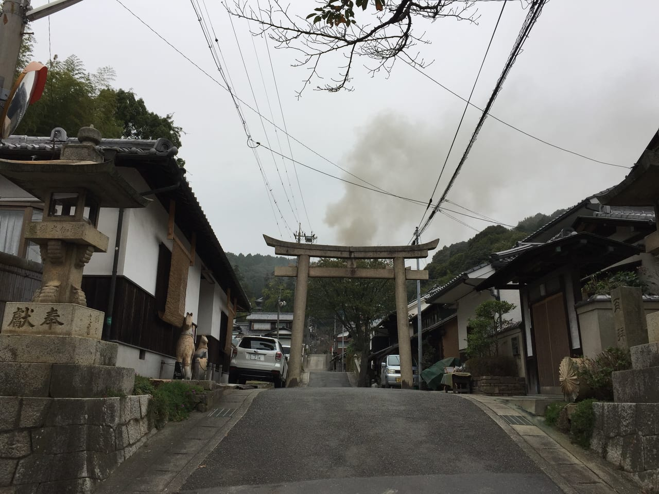 由加山火渡り大祭